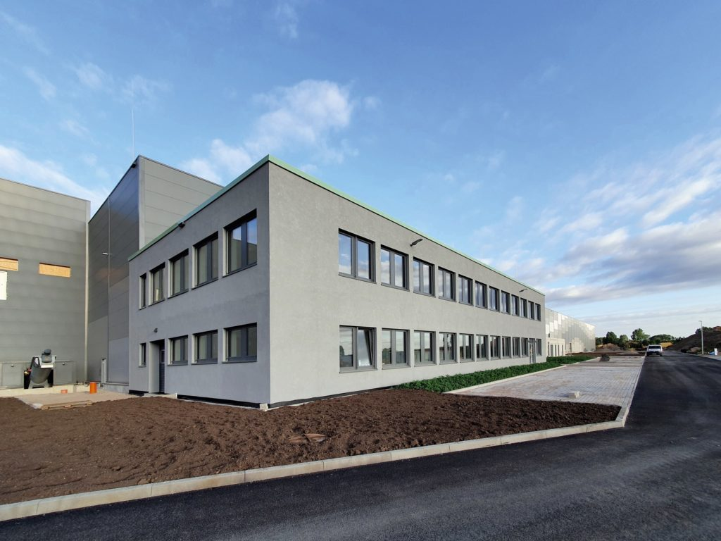 Close to completion: the EMC I in Amt Wachsenburg near Erfurt will be operational in early 2021